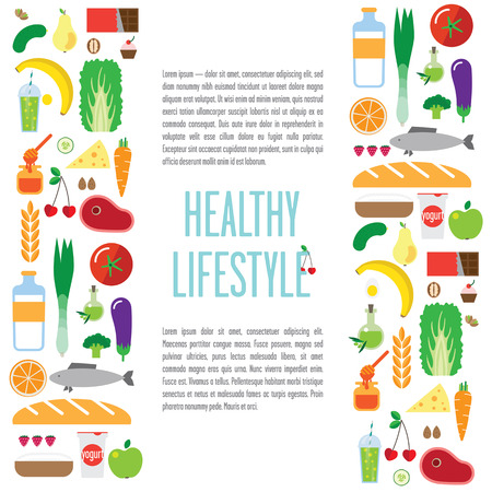 banner foods, a healthy lifestyle.