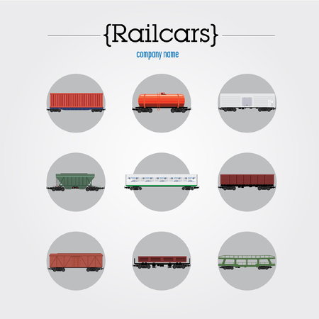 icons with different cars