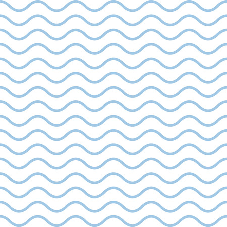 tide: geometric pattern with blue waves on a white background. Illustration