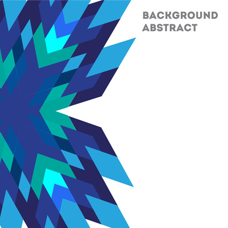 Abstract geometric background template.