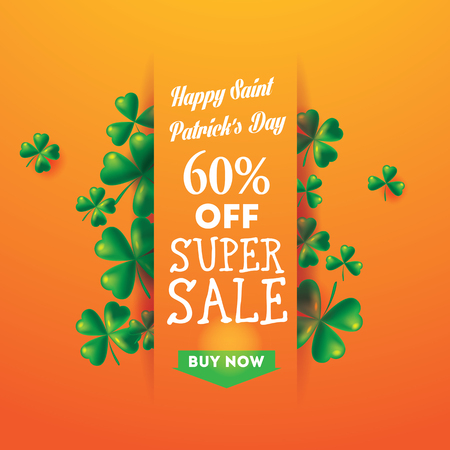 Banner St. Patricks Day Sale