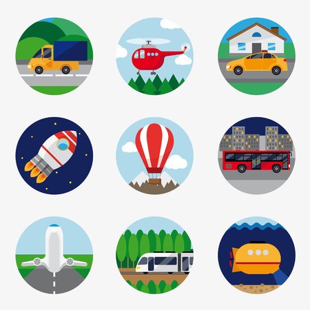 icons: Transport Icons