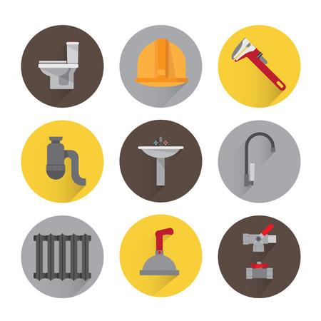 Set icone idraulici
