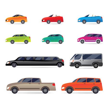 dakar: Set of car bodies