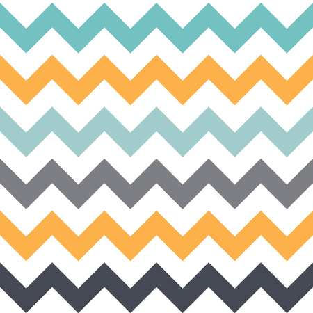 seamless pattern with angles.It consists of the same elements of different colors. The yellow, white, blue and gray.
