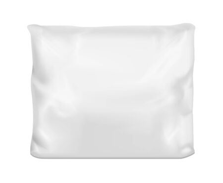 White vector pillow