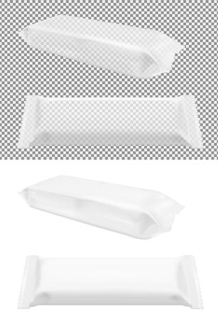 Pacchetto di spuntino trasparente per la pasticceria alimentare per patatine, caramelle e altri prodotti