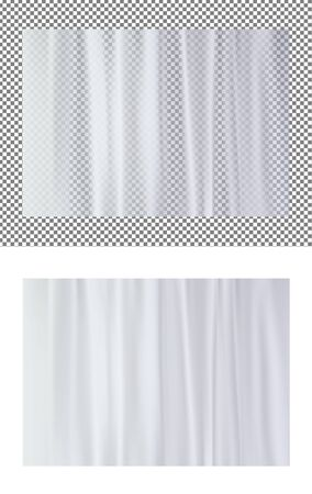 Vector transparent plastic wrapper texture