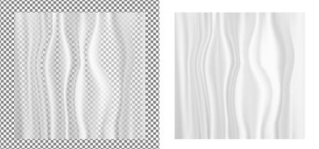 Transpareny plastic wrapper. Illustration