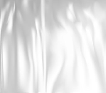 Realistic plastic wrapper Vector illustration. Illustration