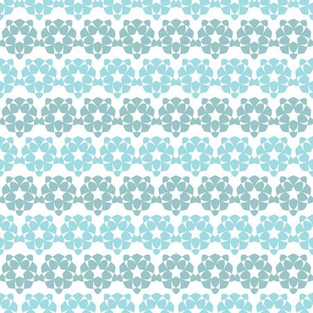 color palette: Star shape ornament. A pastel color palette