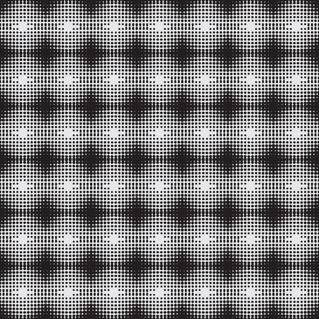 Halftone  background seamless pattern - Vector collection. Stock Photo