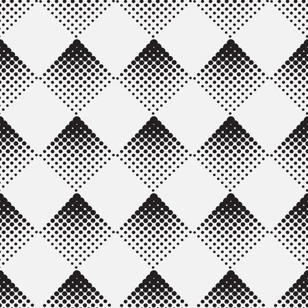 revestimientos: Fondo de semitono en la forma de una ilustraci�n vectorial rombo