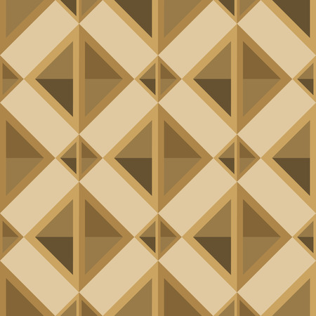 linoleum: rhombuses seamless pattern in retro palettevector illustration
