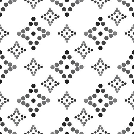 diagonally: seamless diamond patterned diagonally black and white  vector illustration