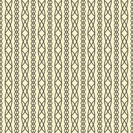 weave: seamless geometric pattern weave braids vector illustration Illustration