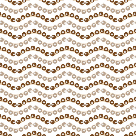 遷移ベクトル図とシームレスな飾り波  イラスト・ベクター素材