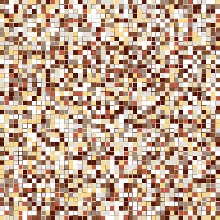 braun: geometric abstract seamless fashion background - vector illustration