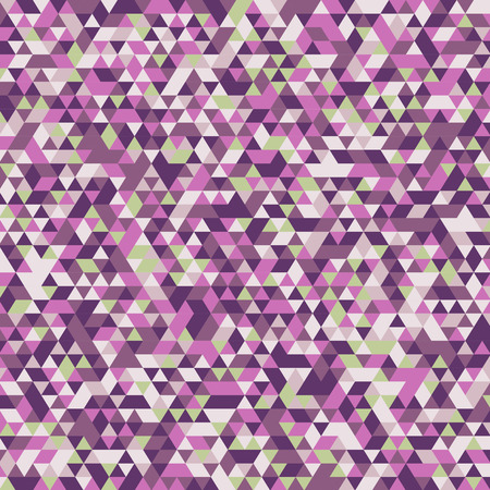 cyclamen: abstract geometric background beautiful triangles - vector illustration