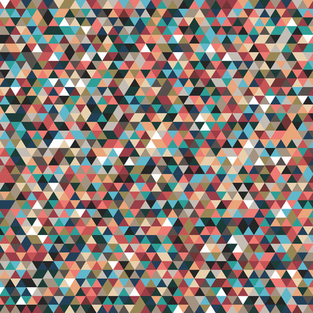dismal: abstract geometric background  triangles dark autumn - vector illustration