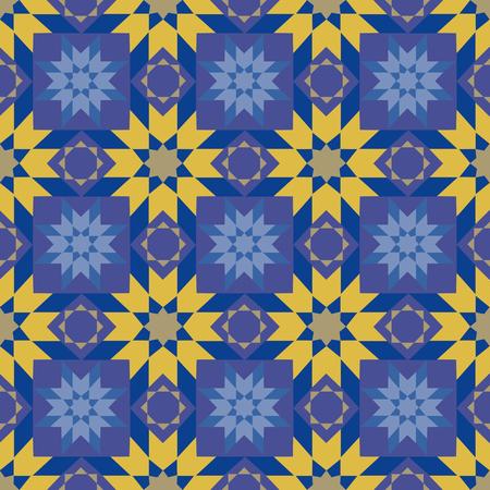 islamic pattern: Arab Islamic seamless ornament. Islamic pattern bright colorful. Vector illustration.