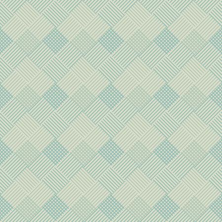 interlacing: Seamless geometric pattern - vector illustration. The interlacing lines of the squares. Illustration