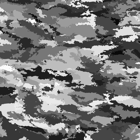 Camouflage military background. Camouflage background - vector illustration. Abstract pattern  イラスト・ベクター素材