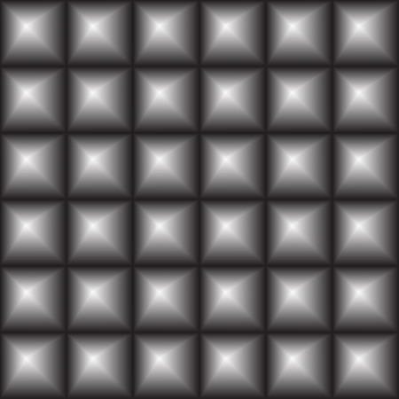 convex: seamless convex squares - vector illustration. Surround the squares, an illusion, a 3 d image.