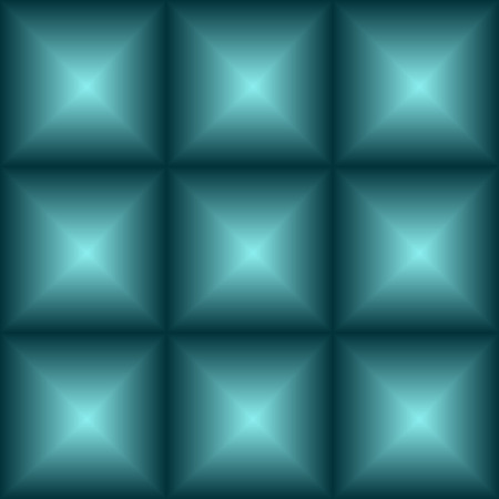 3 d: seamless convex squares - vector illustration. Surround the squares, an illusion, a 3 d image.