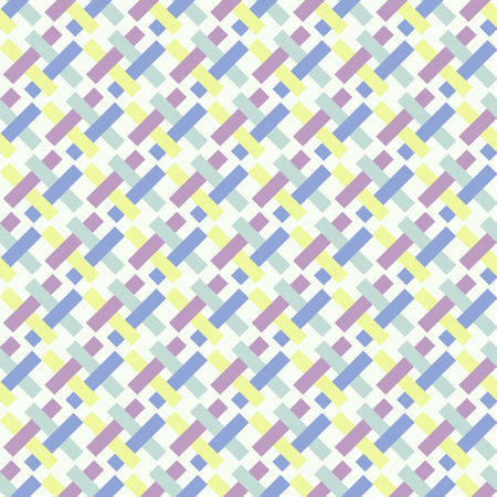 Geometric pattern of interlaced rectangles-illustration. Fashionable color palette of 2016.