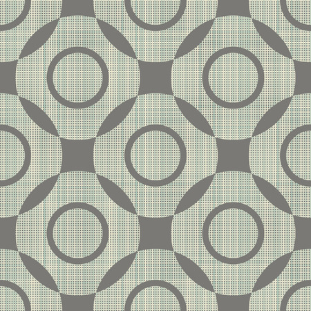 interweaving: Geometric ornament seamless interweaving of fibres-vector illustration. Fabric structure, horizontal and vertical lines. The geometric figure.