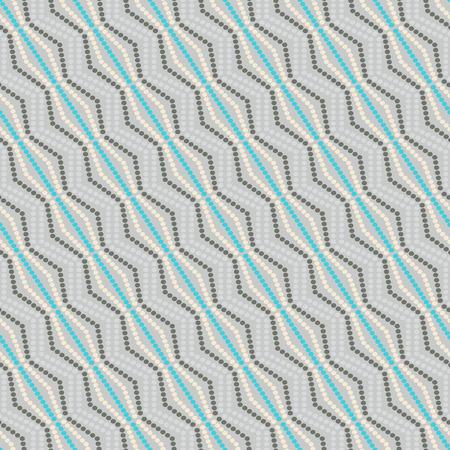 coordinated: seamless geometric pattern dots -vector illustration. Illustration