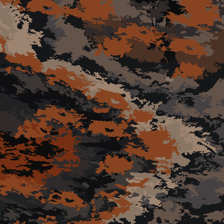 conceal: Abstract background vector-brown spots. Vector background camouflage. Illustration