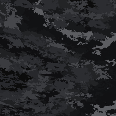 Abstract background vector-bright spots. Black background camouflage.