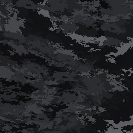 Résumé de fond taches vecteur lumineux. Fond noir camouflage.