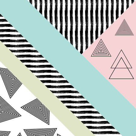 desktop wallpaper: Abstract hand drawn geometric pattern, or background, lace patterns. Poster, card, textile, pattern desktop Wallpaper
