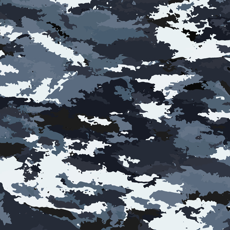 Camouflage military background. Camouflage background - vector illustration. Abstract pattern spot. Ilustrace