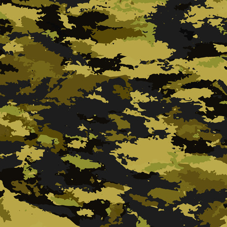 color conceal: Camouflage military background. Camouflage background - vector illustration. Abstract pattern spot. Illustration
