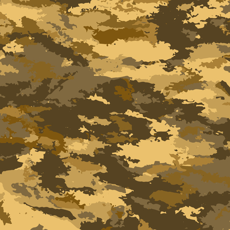 Camouflage military background. Camouflage background - vector illustration. Abstract pattern spot. Imagens - 63529787
