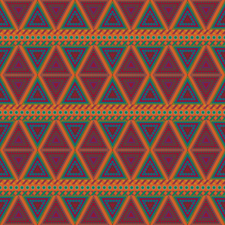 tribal seamless patterns design template