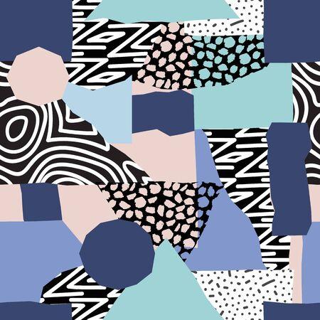 abstract seamless pattern  イラスト・ベクター素材