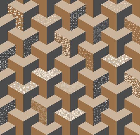 Vector seamless pattern.  イラスト・ベクター素材