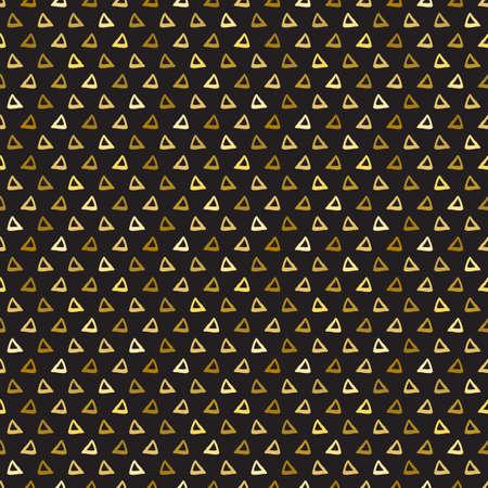seamless pattern triangles Illusztráció