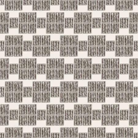 seamless brush pattern vector