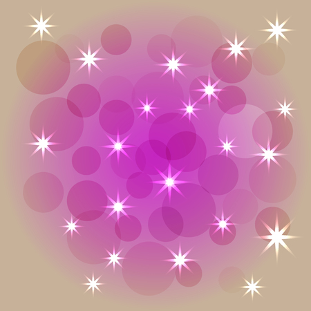 Abstract colorful modern purple and pastel bokeh background.