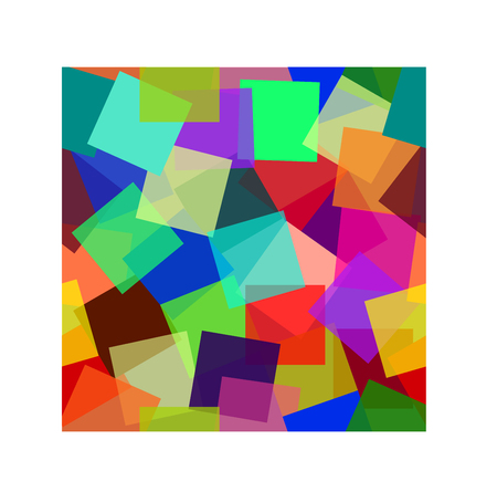 Abstract colorful modern background in geometric style .