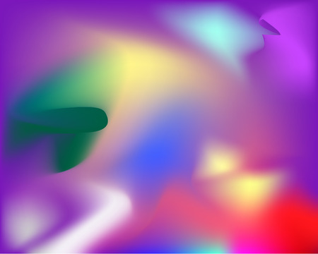 Colorful bright abstract background with blurred texture. Ilustração