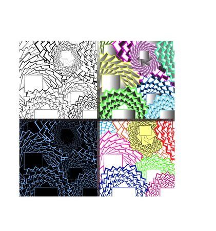 Background in abstract geometric style for use in design.