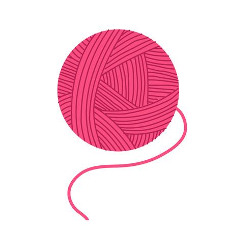 핑크 원사 아이콘입니다.