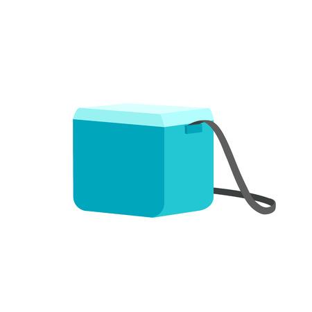 Cooler bag. Vector illustration.